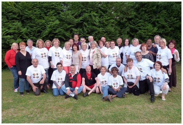 L'équipe de la collecte de juin 2012